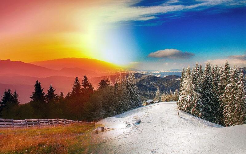 Voyager en periode estivale ou hivernale